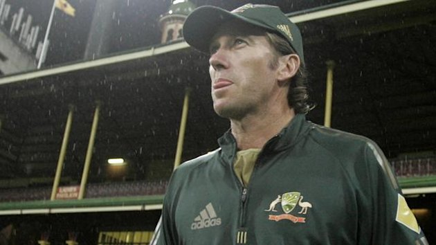 CRICKET 2007 World Cup Australia Glenn McGrath