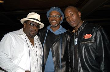 Cedric The Entertainer, Samuel L. Jackson, Tyrese Gibson MTV Movie Awards - 5/31/2003