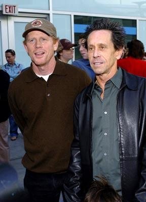 Ron Howard and Brian Grazer at the Hollywood premiere of Paramount Pictures' Lemony Snicket's A Series of Unfortunate Events