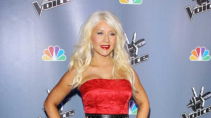 Christina Aguilera The Voice Prss Conf