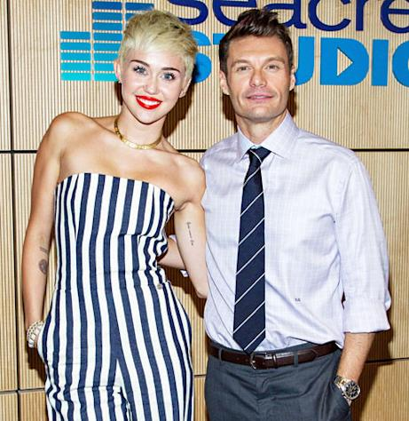Miley Cyrus Gives Happy, Funny Interview to Ryan Seacrest After Liam Hemsworth Returns to L.A