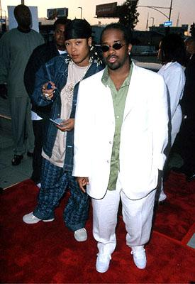 Da Brat and Jermaine Dupri at the L.A. Cinerama Dome premiere of 20th Century Fox's Big Momma's House