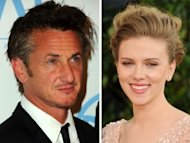 Sean Penn and Scarlett Johansson. Photo: Jason Merritt/Getty Images/Alberto E. Rodriguez/Getty Images