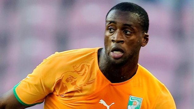 FOOTBALL Ivory Coast midfielder Yaya Toure