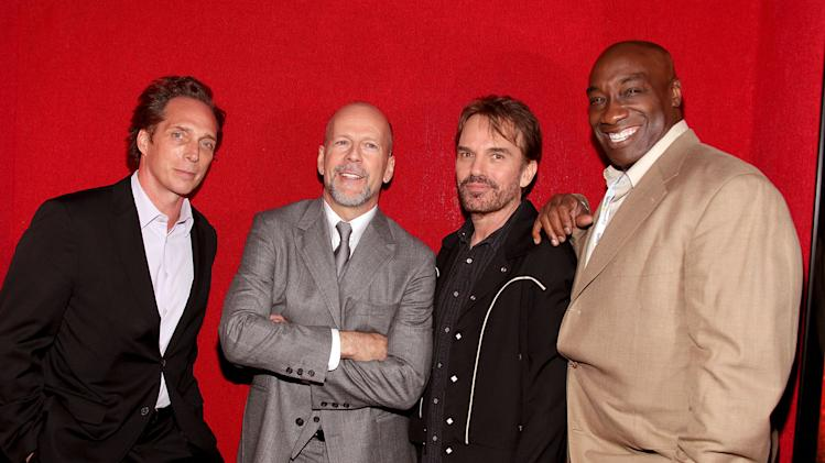 A Cinematic Celebration of Jerry Bruckheimer 2010 William Fichtner Bruce WIllis Billy Bob Thornton Michael Clarke Duncan
