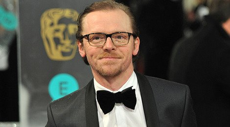 Simon Pegg at the 2013 BAFTAs
