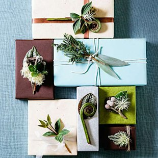 Gift toppers make the presentation unforgettable
