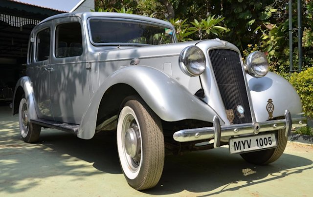 Sulaiman Jamal's vintage cars treasure history on wheels