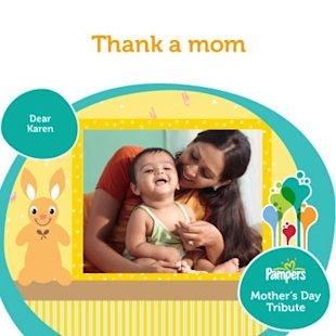 7 Interesting Facebook Campaigns On Mother's Day image Pampers India Facebook