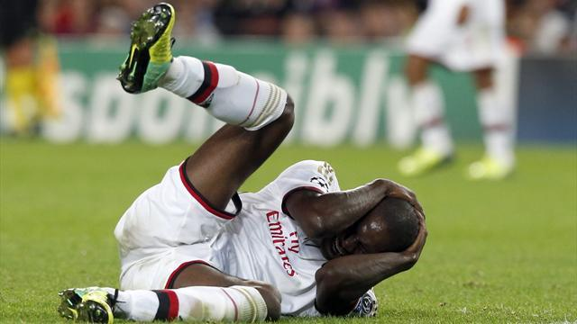 Serie A - More time on the bench looms for Balotelli