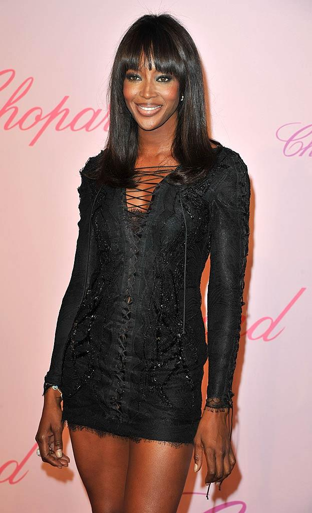 Naomi Campbell Cannes Film Fes