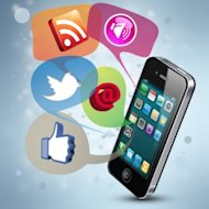 Five Strategies to Increase Social Media Traffic Using SMS Marketing image canstockphoto8435391 social 300x300