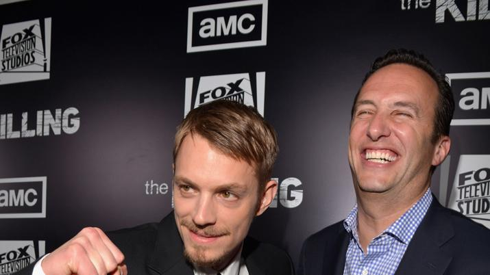Joel Kinnaman and Charlie Collier