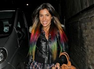 Okay, so Dip Dyed hair isn't new but we have to mention MIC's Gabriella Ellis and her Rainbow Bright cartoon hair. Tweeting a picture mid dip-dye, Gabriella seems to have a bit of a thing for multi-coloured beauty, coordinating her newly coloured hair with sparkly, matching bright nails