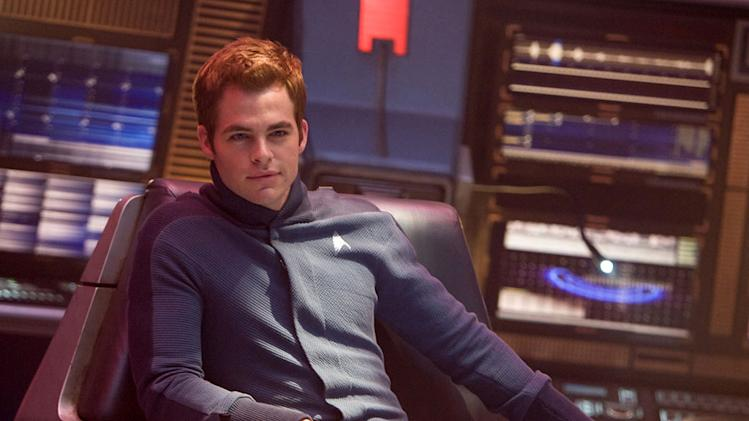 Star Trek Production Photos 2009 Paramount Pictures Chris Pine