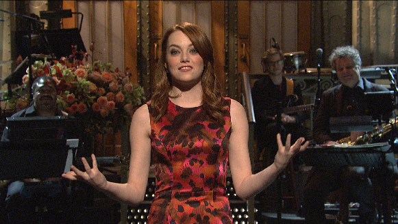 Emma Stone Monologue: The Amazing Spiderman
