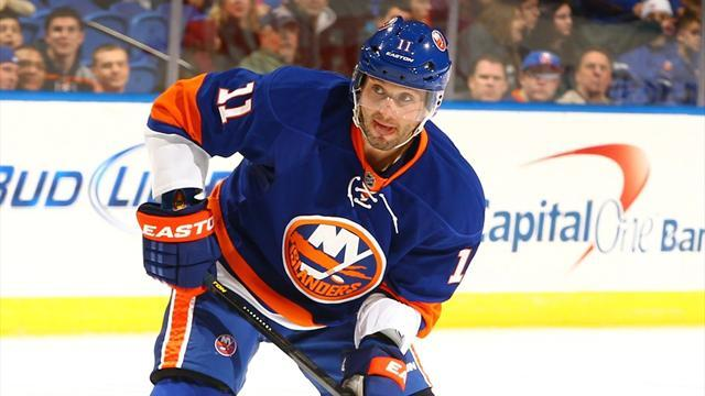 Ice Hockey - Islanders rally to edge Rangers in shootout