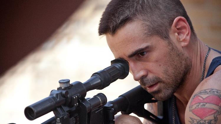 "This film image released by FilmDistrict shows Colin Farrell in a scene from ""Dead Man Down."" (AP Photo/FilmDistrict, John Baer)"