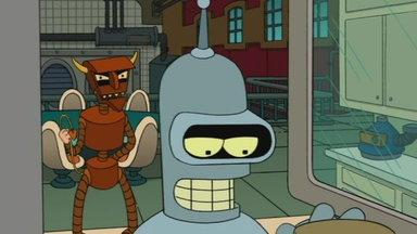 The Robot Devil Visits Bender