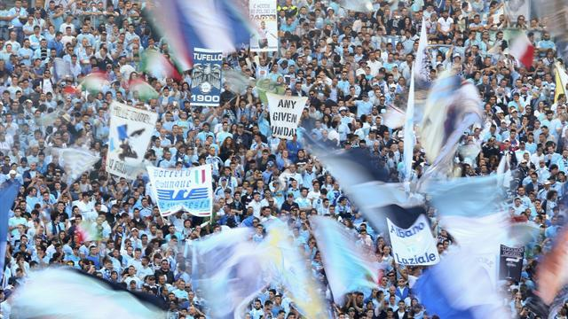 Serie A - Lazio fans boycott kickoff in protest at transfer policy