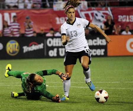 Soccer: Women's Friendly-Brazil at USA