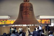 The official bell at the Ethiopian Commodities Exchange (ECX) in Addis Ababa on May 29, 2013. Since it was established the ECX has brought transparency to Ethiopia's commodities market, helped producers earn more money by cutting out middle men and increased productivity among farmers