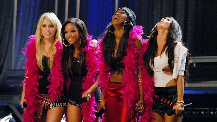 L to R: Nichole, Chrystina, Tiffanie, and Natalie are the winners of Pussycat Dolls Present: Girlicious.
