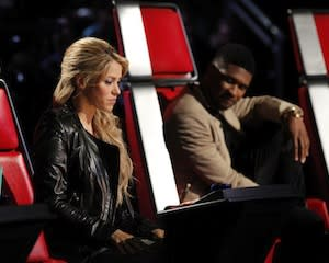 Shakira, Usher and Cee Lo Returning to The Voice