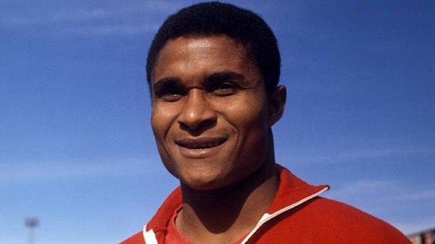 Pourtguese legend Eusebio