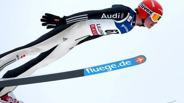 Ski Jumping - Wellinger inspires Germany to Kuusamo win