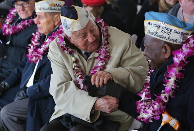 Pearl Harbor Survivors Commemorate 72nd Anniversary Of Attack