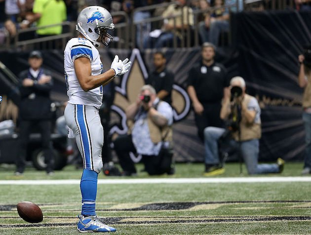 Enter the Golden Tate dojo and you too will be rewarded. (Getty)
