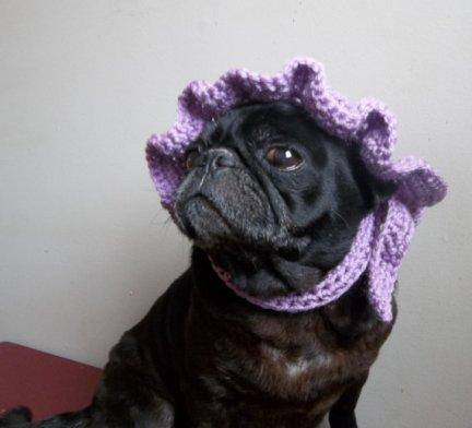 Classic Crocheted Bonnet