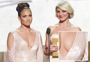"Jennifer Lopez's Oscar Nip Slip: ""No Chance,"" Says Stylist"