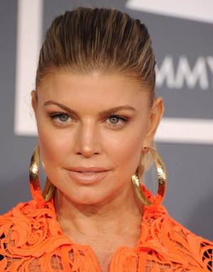 Fergie 2012 Grammys  -- Getty Images