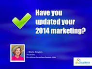 How to Update Your Online Marketing Strategy in 2014 image blue update marketing 2014 fi
