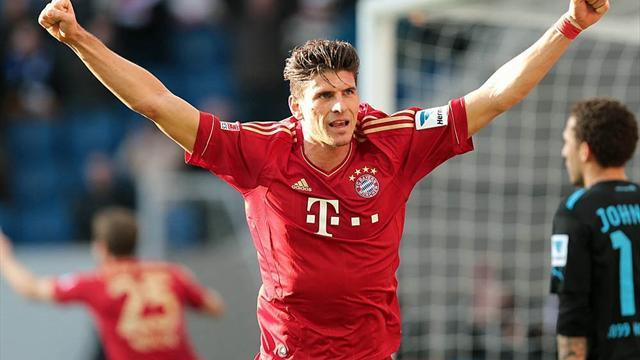 Bundesliga - Second-string Bayern down Hoffenheim