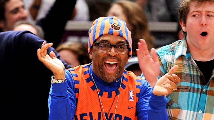 Spike Lee Knicks Game