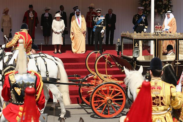 The State Visit Of The President Of The UAE - Day One