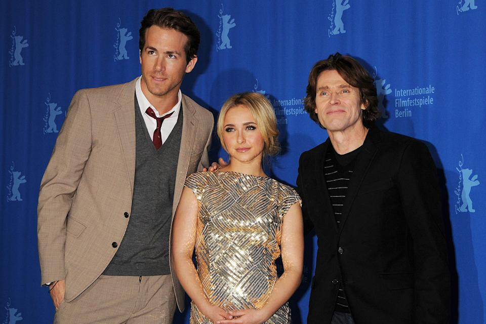 Willem Dafoe 2008 Hayden Panettiere Ryan Reynolds