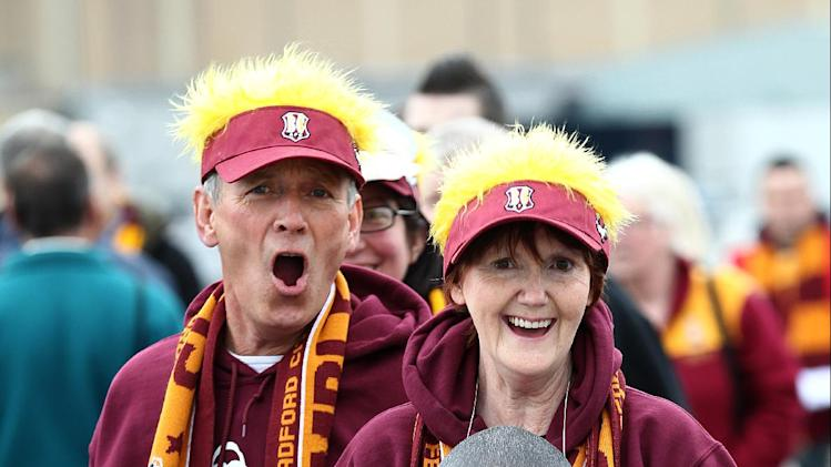 Soccer - npower Football League Two - Play Off - Final - Bradford City v Northampton Town - Wembley Stadium