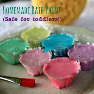Easy to make - even easier to wash away!