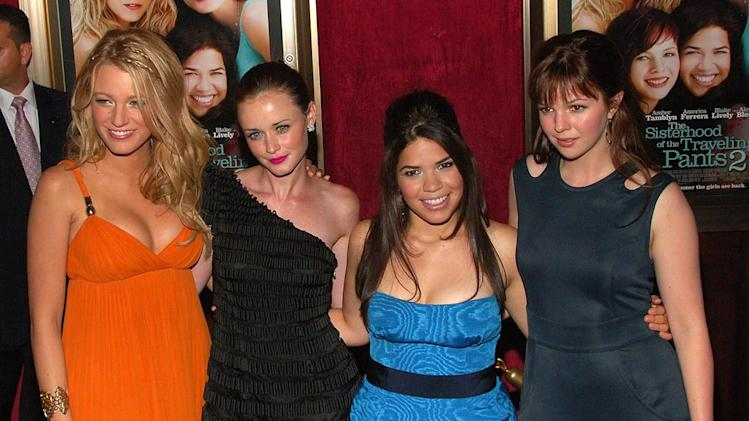 The Sisterhood of the Traveling Pants Premiere 2008 Blake Lively Alexis Bledel America Ferrera Amber Tamblyn
