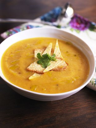 Winter soups: four hearty recipes