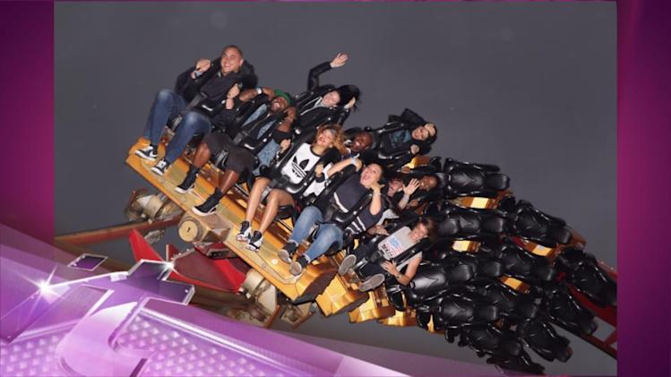 Entertainment News Pop: Rihanna Enjoys Getting High On Rollercoasters!