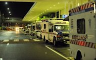"Ambulances in Cairns. A new craze sweeping the Internet known as ""planking"" has claimed a life in Australia with a man attempting the fad plunging to his death from a balcony Sunday"