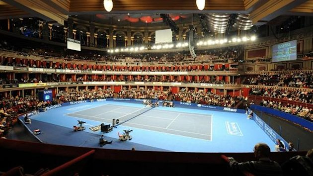 Tennis Royal Albert Hall generic shot