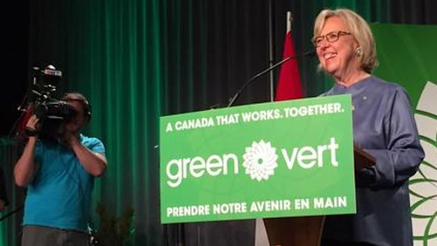 Canada election 2015: Elizabeth May re-elected on Vancouver Island