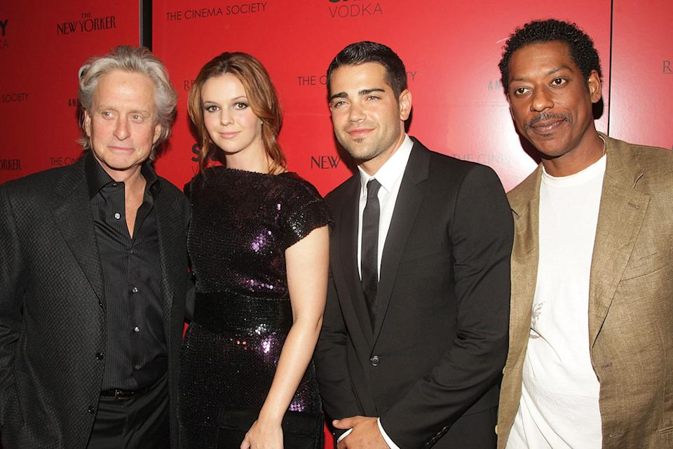 Beyond a Reasonable Doubt NY Premiere 2009 Michael Douglas Amber Tamblyn Jesse Metcalf Orlando Jones