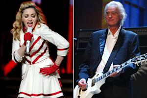 Madonna, Led Zeppelin Among Songwriters Hall of Fame Nominees